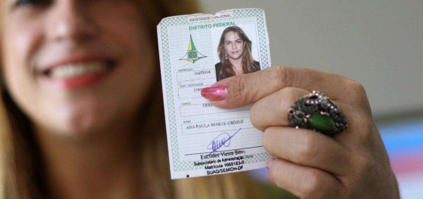 CCJ da Alba aprova projeto que assegura a transexuais e travestis uso do nome social em órgãos públicos