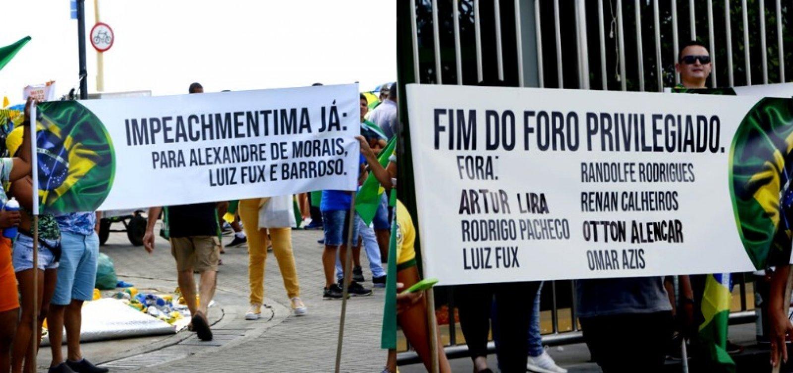 TSE decide investigar suspeita de financiamento de atos pró-Bolsonaro no 7 de Setembro