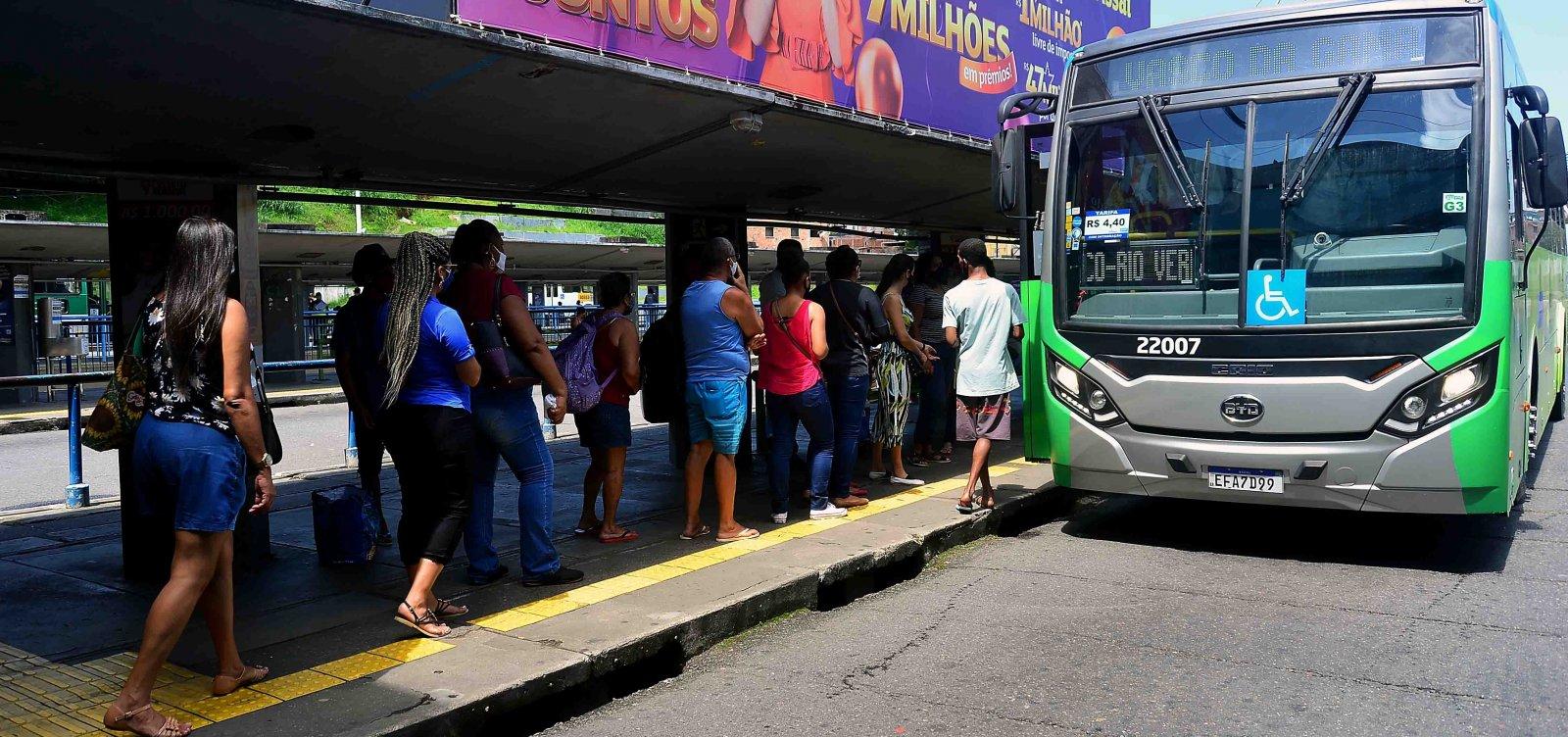 Testes com ônibus elétricos para BRT começam em linhas da Lapa e Estação Pirajá, em Salvador