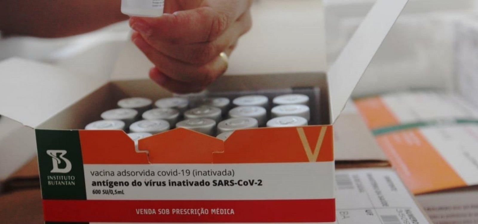 Butantan entrega 5,1 milhões de doses da CoronaVac ao governo