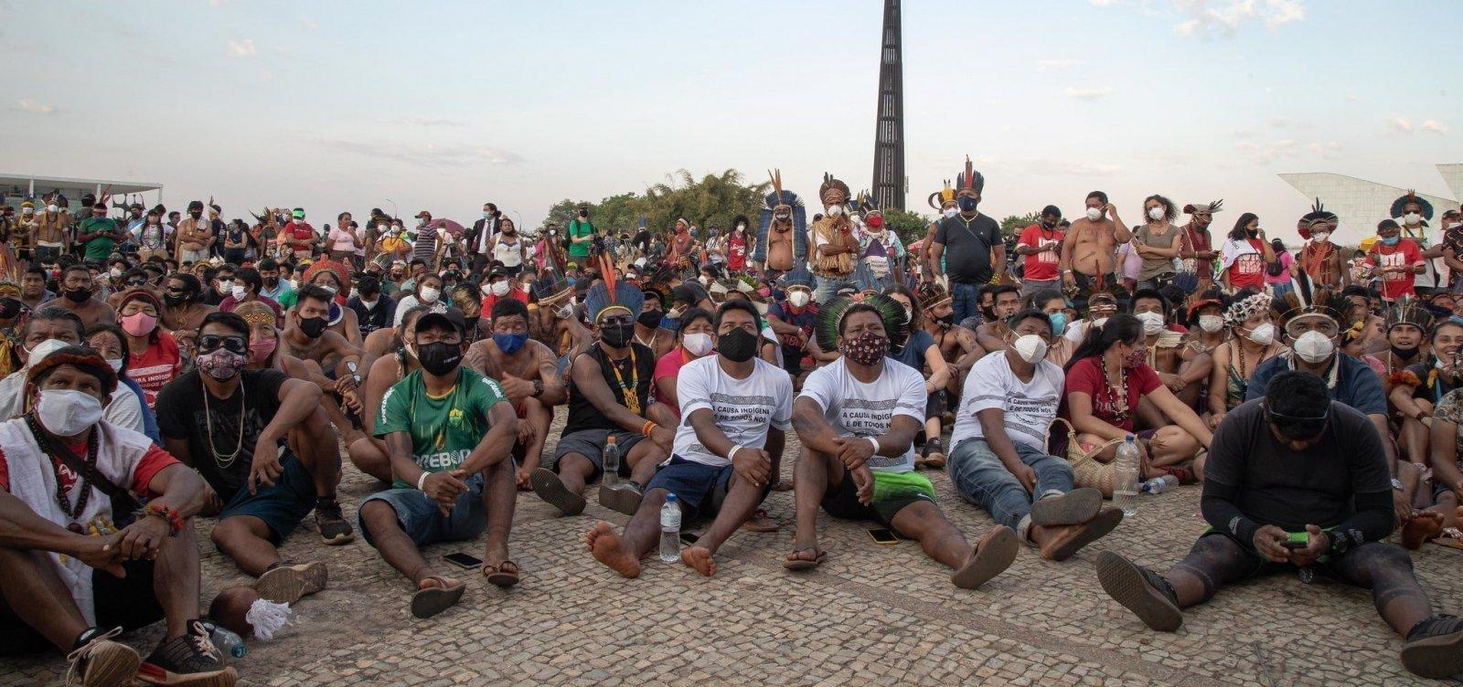 Marco temporal: Após Nunes Marques votar a favor, Moraes pede vista e julgamento é suspenso
