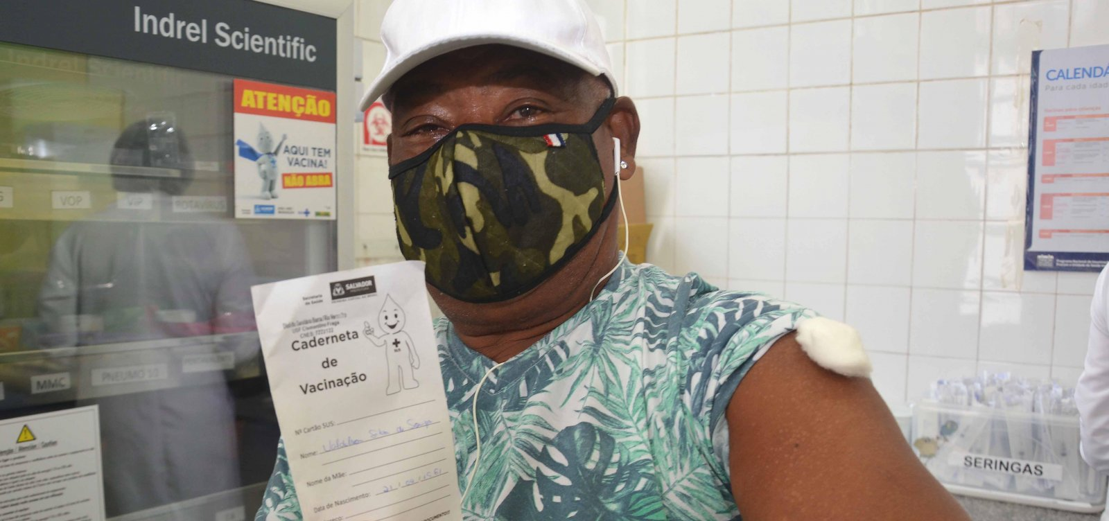 Bahia vacinou 85% da população adulta com pelo menos uma dose de vacina contra Covid