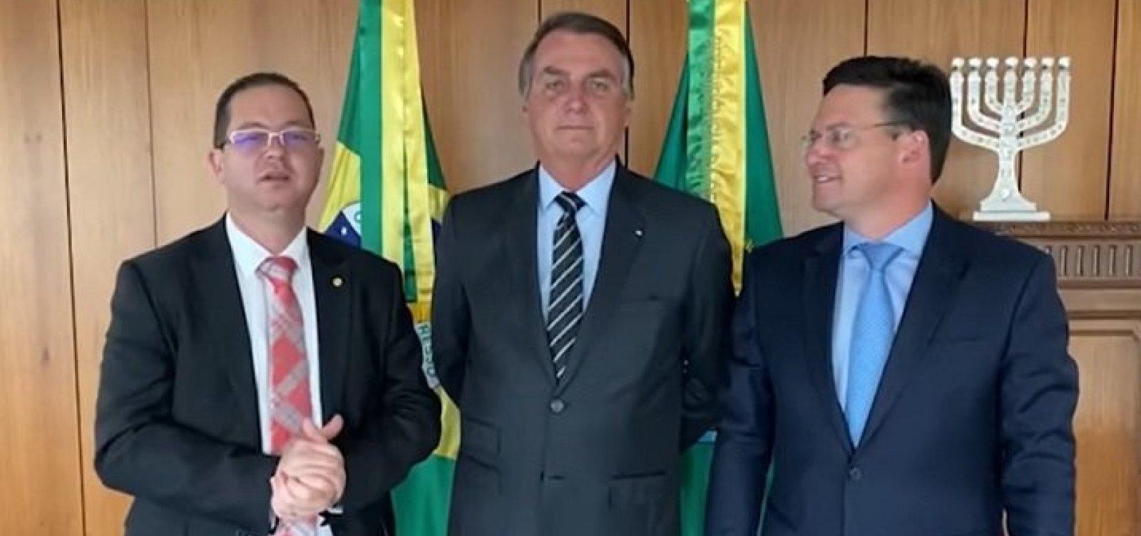 """Prestes a ser expulso do PDT, deputado Alex Santana chama Bolsonaro de """"meu presidente"""""""