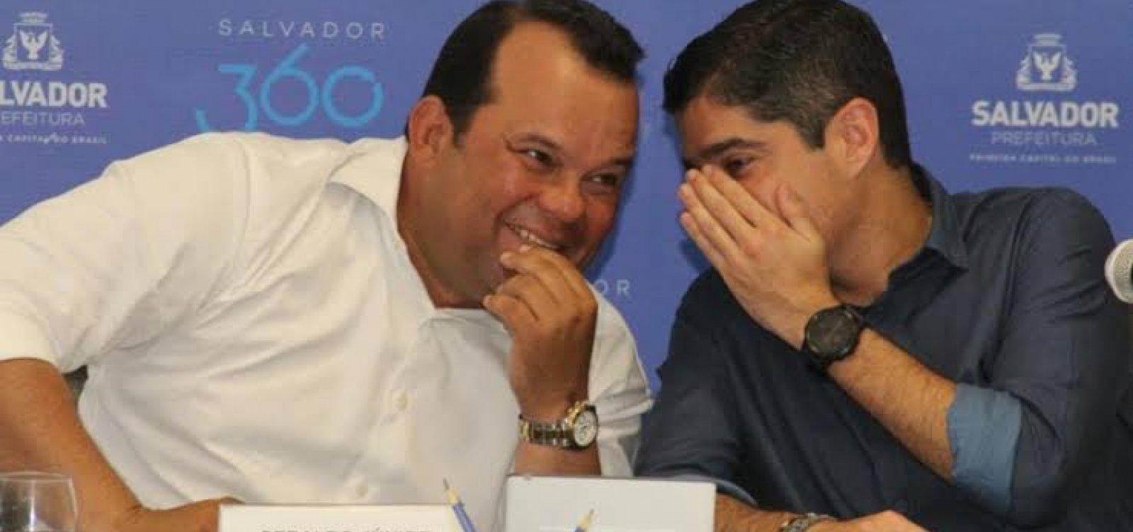 MDB estreita laços com ACM Neto e barganha cargo de vice na chapa para governo em 2022