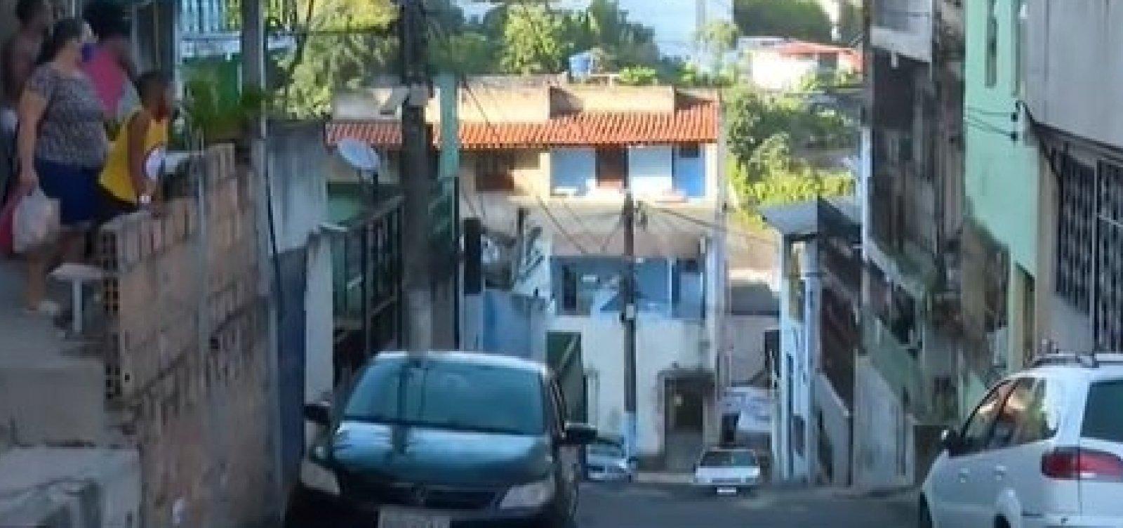 Homem é baleado na porta de casa após tiroteio na Cidade Nova