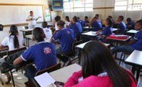 Matrícula na rede estadual de ensino começa nesta quarta-feira; confira