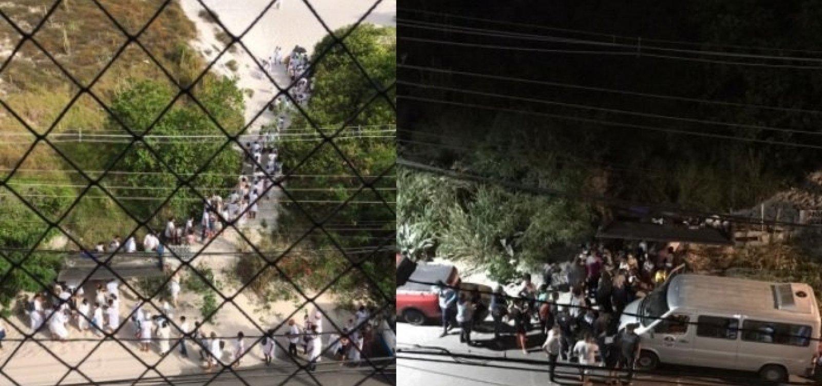 Culto no areal e som alto de evangélicos durante madrugada irritam moradores do Costa Azul