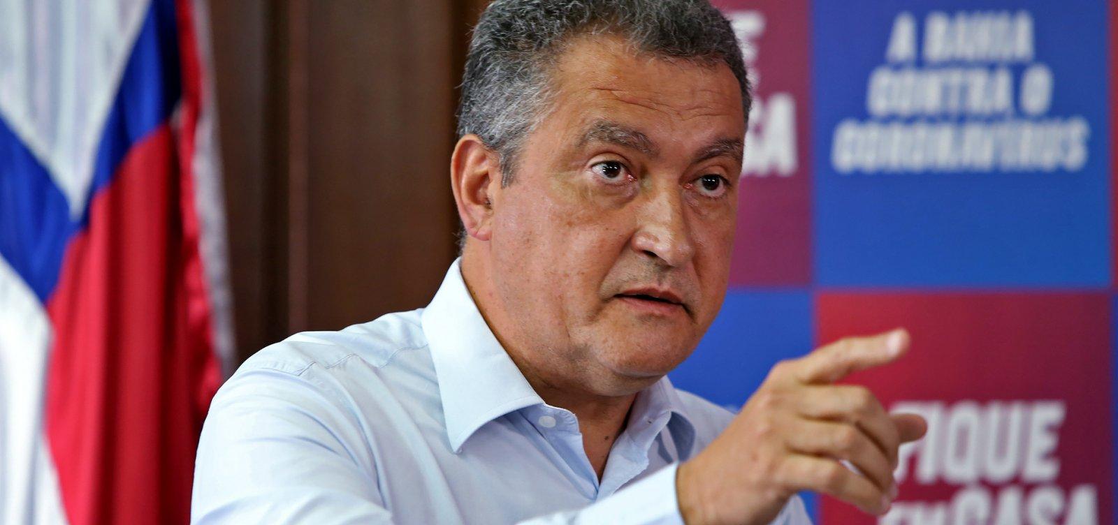 """""""Governo Federal deu as costas ao povo da Bahia"""", diz Rui Costa"""