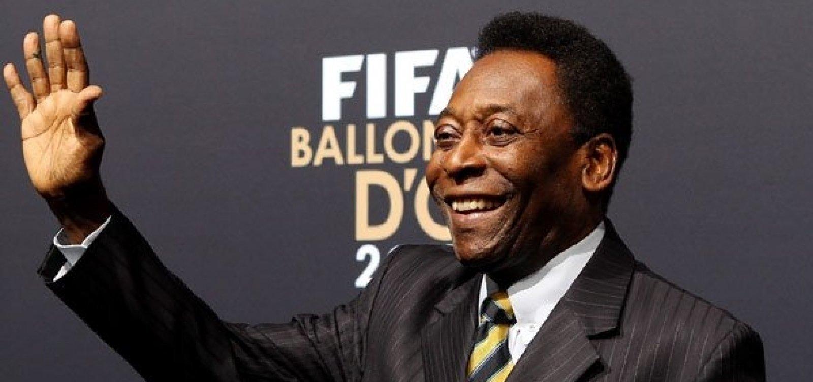Pelé apresenta piora em seu quadro de saúde e volta para a UTI
