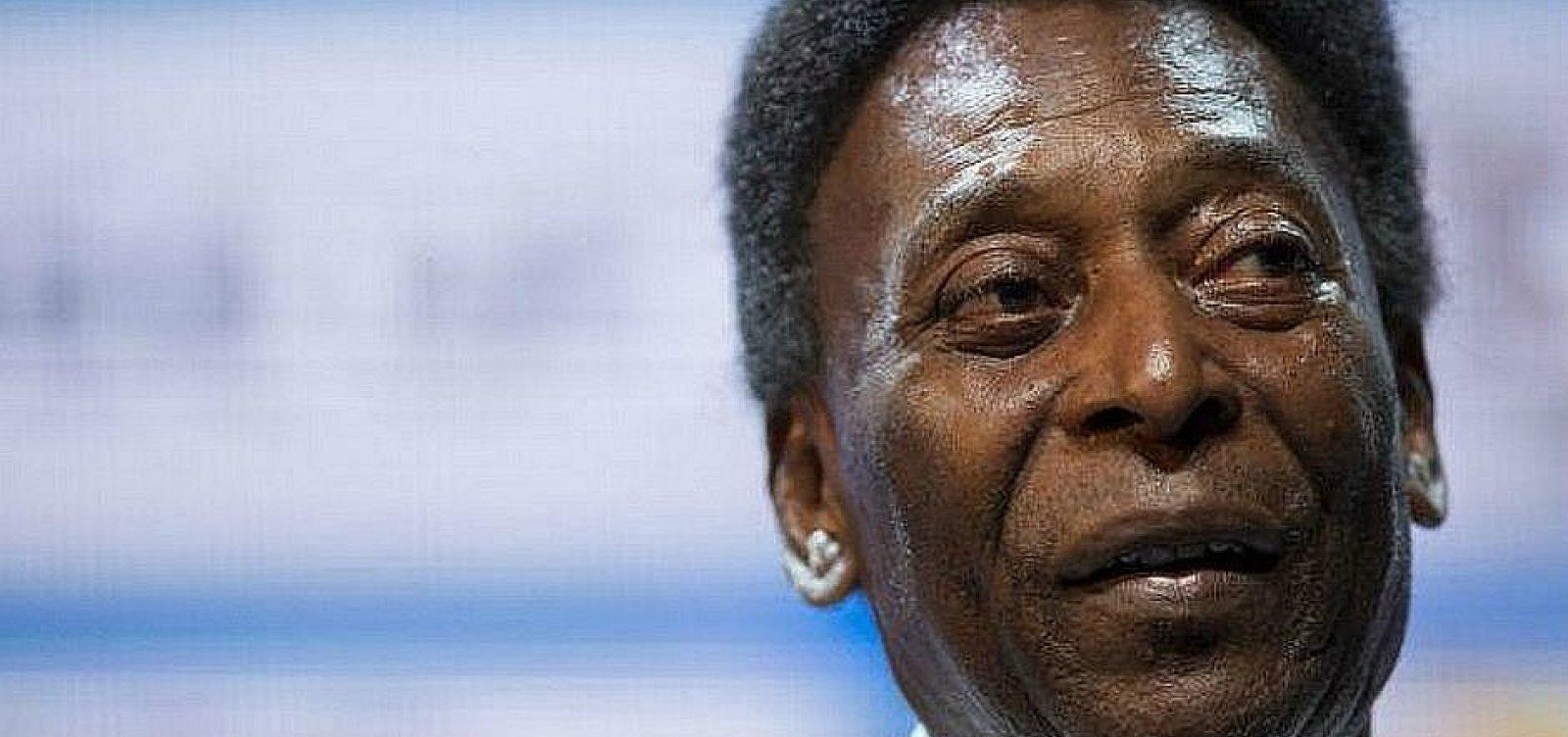 """Pelé deixa UTI e recebe tratamento semi-intensivo: """"Estou bem, sorrindo todos os dias"""""""