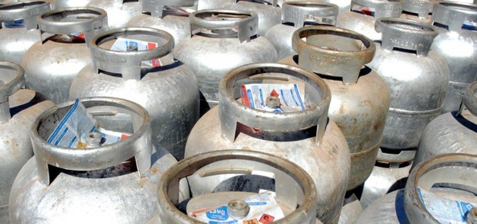 Com alta de 5%, botijão de gás chega a R$ 92,5 em Salvador