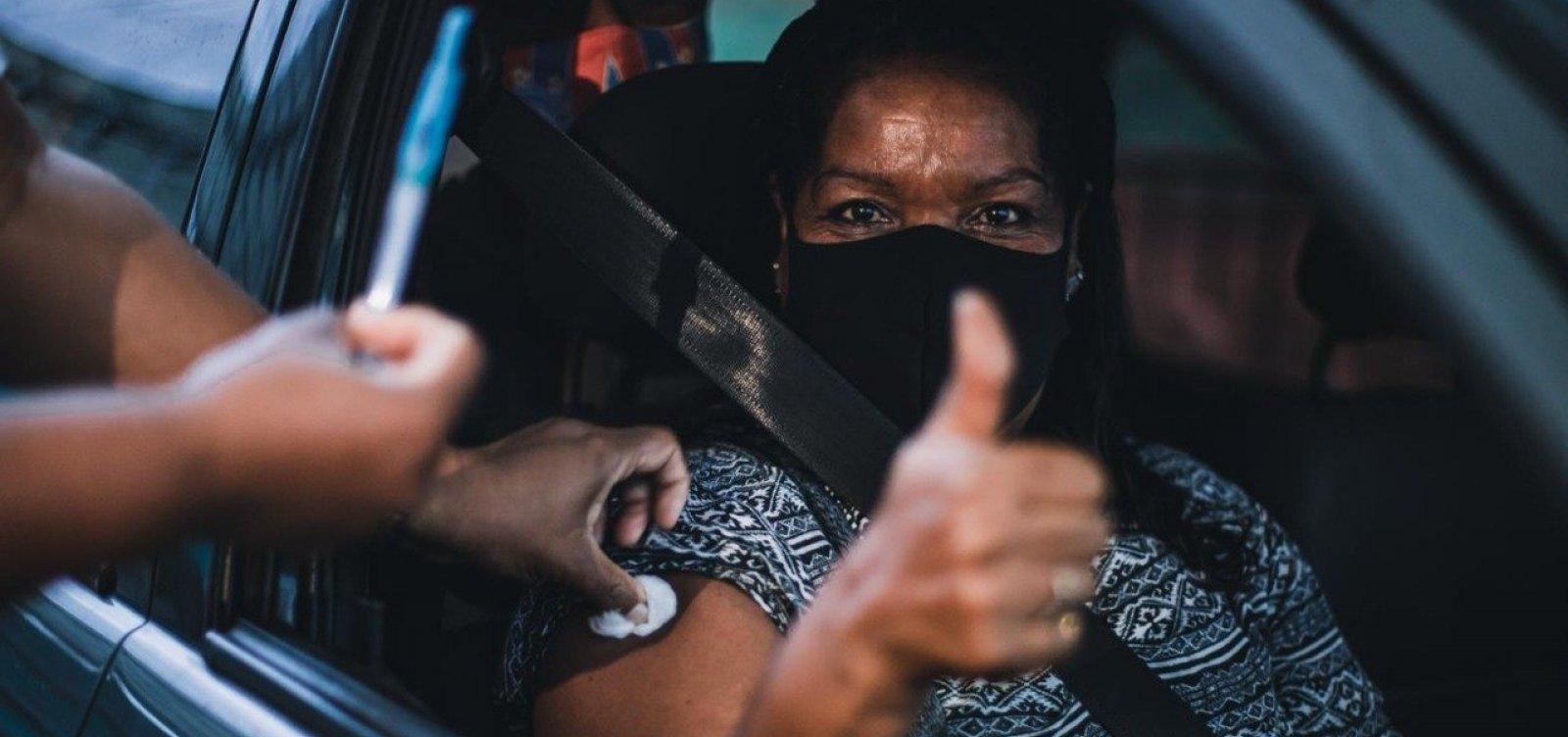 Vacinação contra Covid é suspensa neste domingo em Salvador