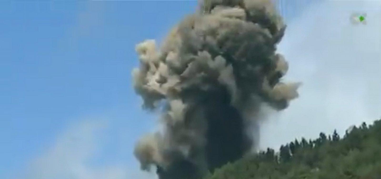 Vulcão Cumbre Vieja entra em erupção nas Ilhas Canárias