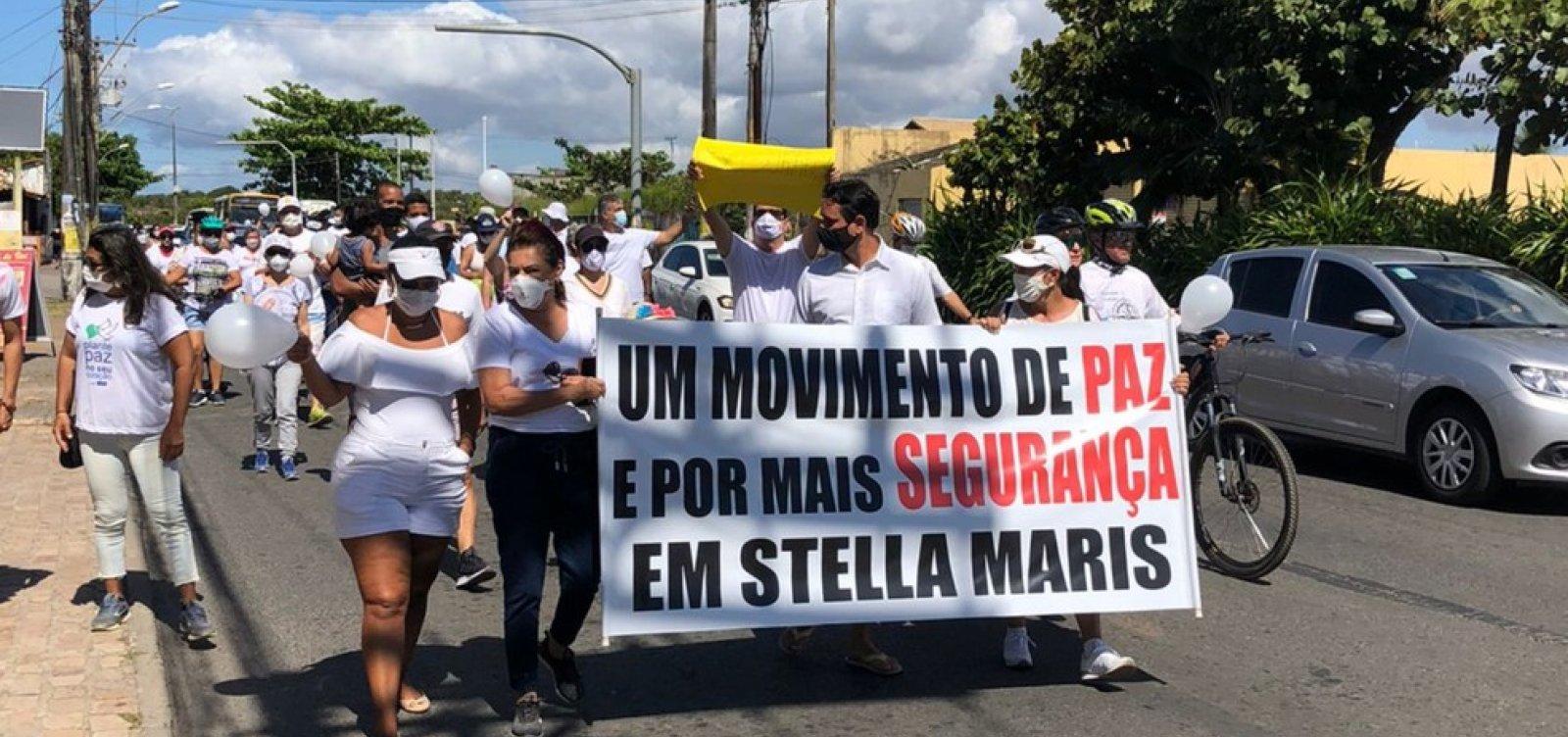 Moradores de Stella Maris reclamam de violência e pedem reforço polícial