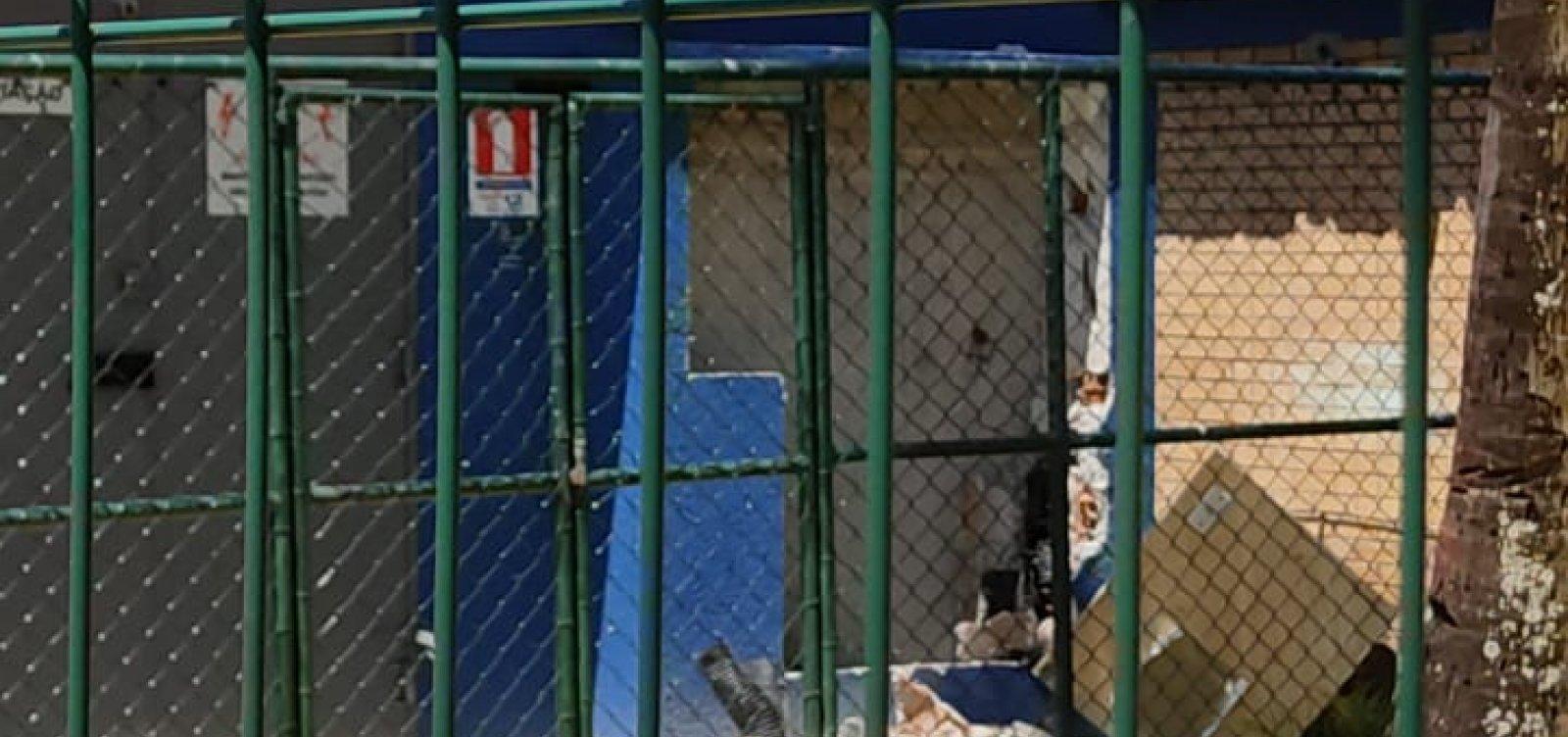 Escola reformada em Salvador desperta cobiça e vira alvo de bandidos até em horário de aula