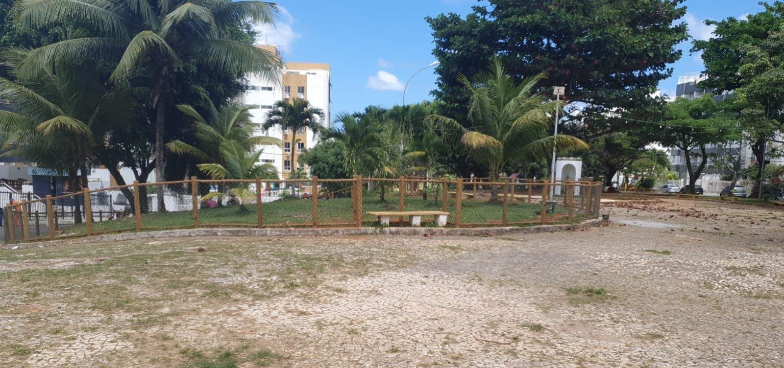 'Cachorródromo' em praça vira ponto de polêmica entre moradores do Rio Vermelho