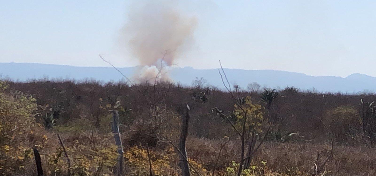 Em temporada de incêndios, novas chamas atingem Chapada Diamantina