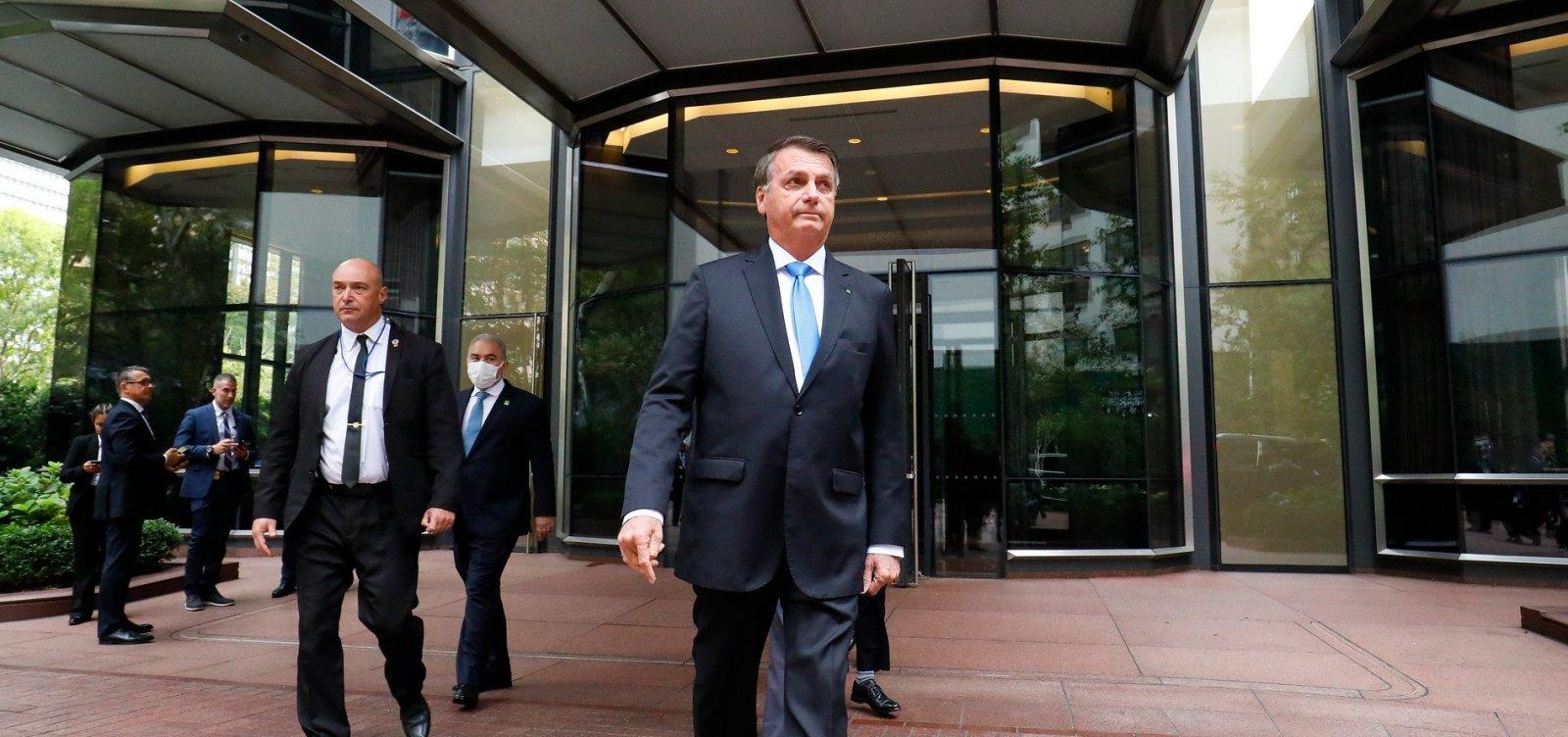 """""""Se você não quer se vacinar, nem precisa vir"""", diz prefeito de Nova York a Bolsonaro"""