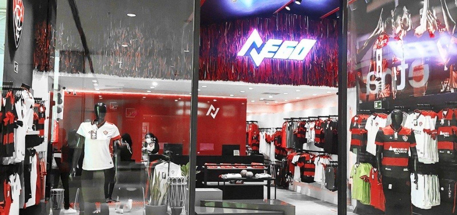 Vitória abre nova loja oficial em grande shopping da cidade