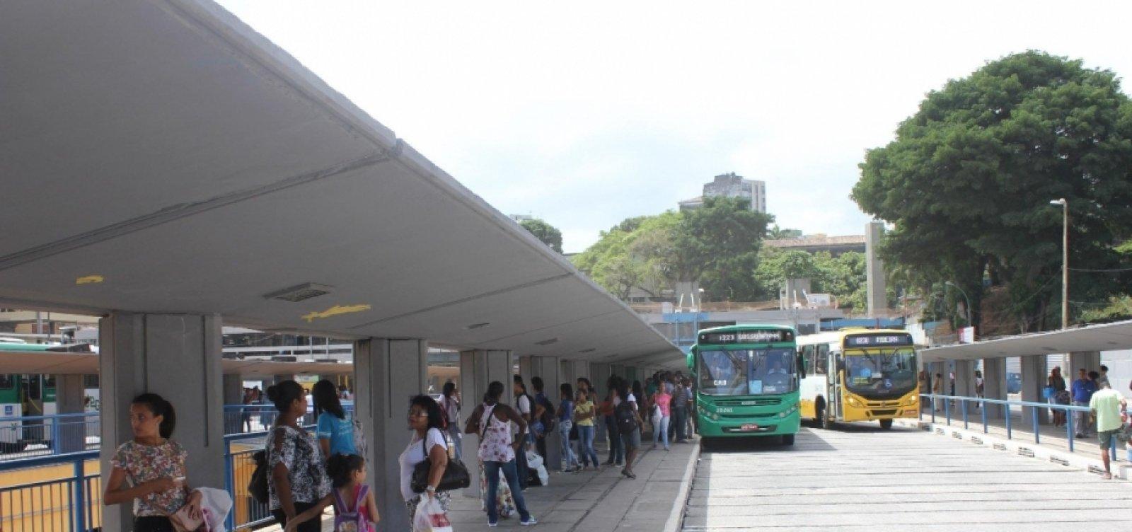 Ônibus voltam a circular na Barroquinha após protesto