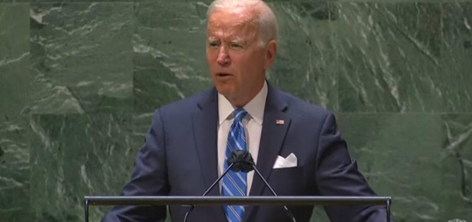 """Em primeiro discurso na ONU, Biden celebra vacinação e rejeita """"nova guerra fria"""""""