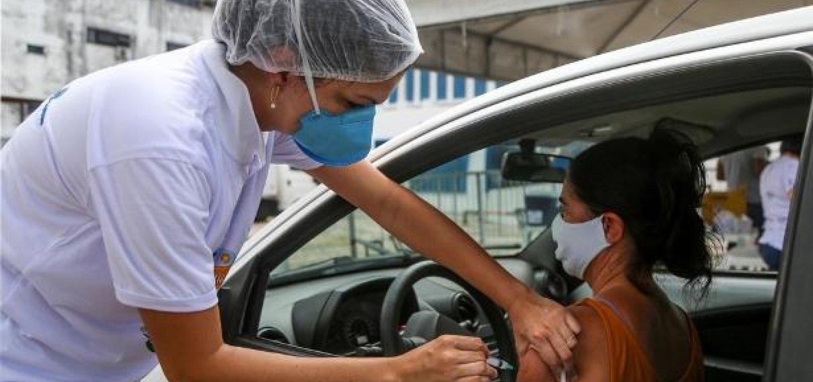 Salvador ultrapassa marca de 2 milhões de vacinados com primeira dose contra Covid