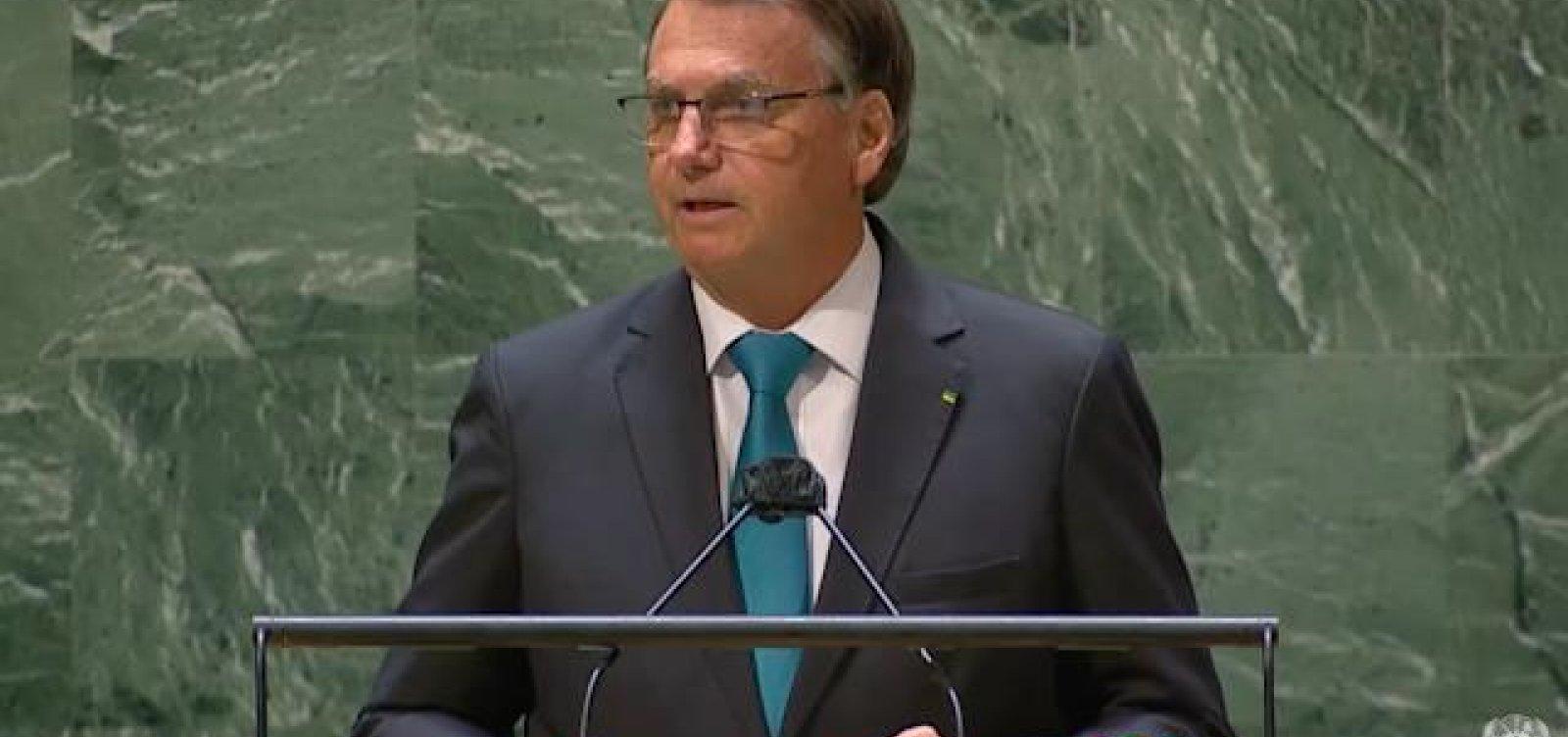 Bolsonaro desmarca entrevista na ONU após pronunciamento permeado de mentiras