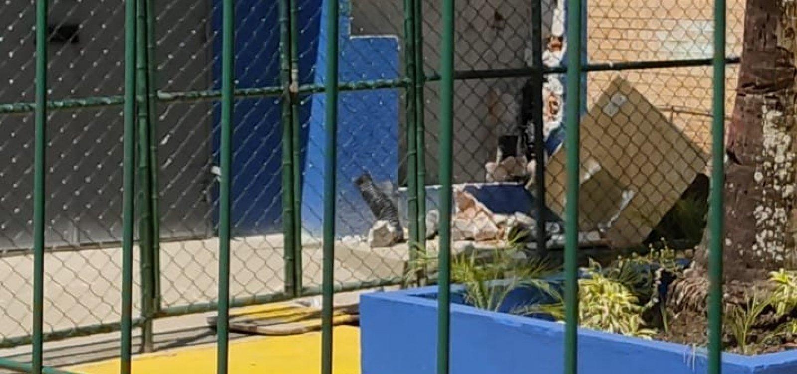 Polícia investida onda de assaltos em escola de Salvador; pais reclamam de insegurança