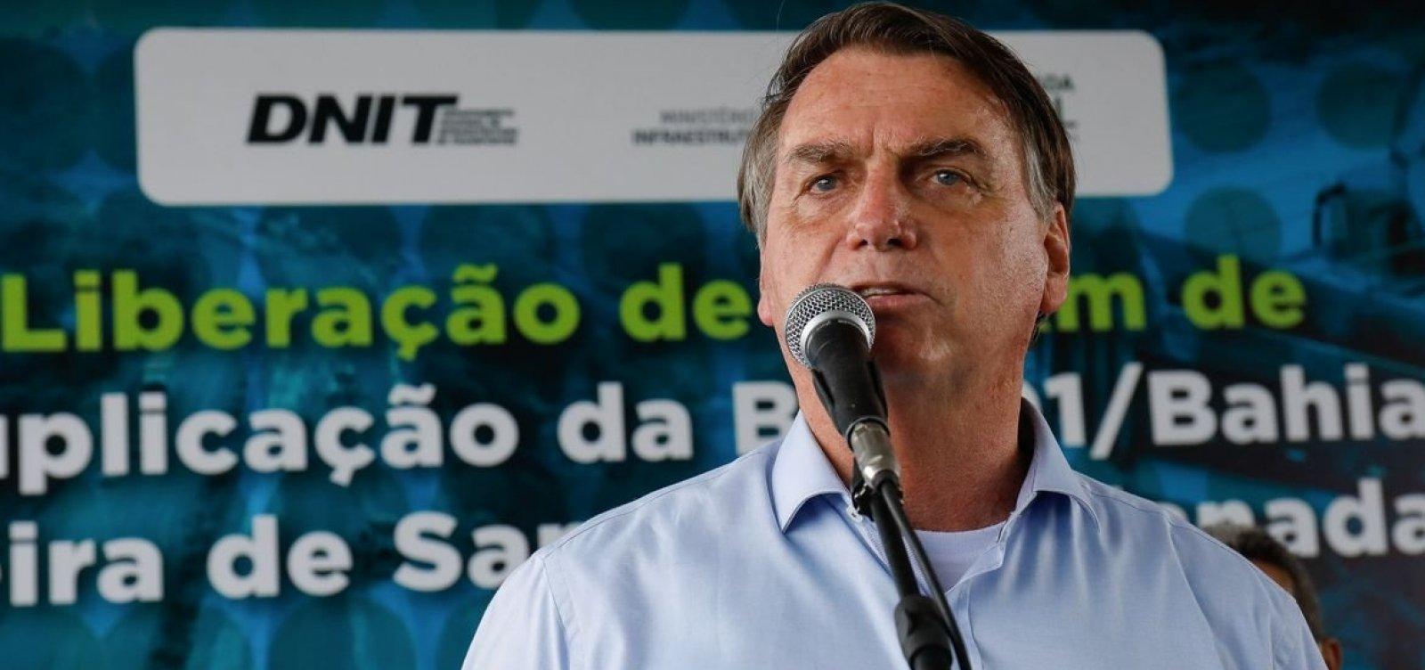 Em ritmo de campanha, Bolsonaro comemorará mil dias de governo com agenda na Bahia
