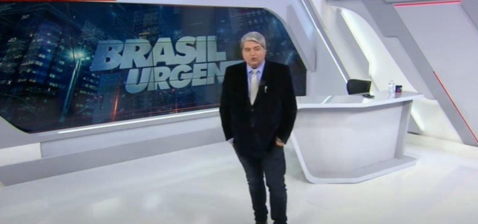 Cotado para disputa presidencial, Datena diz que não aceita ser vice em caso de fusão DEM-PSL