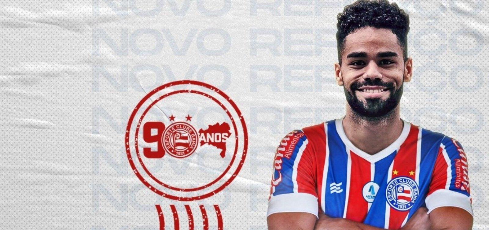 Bahia anuncia contratação de jovem atacante que atuava futebol espanhol
