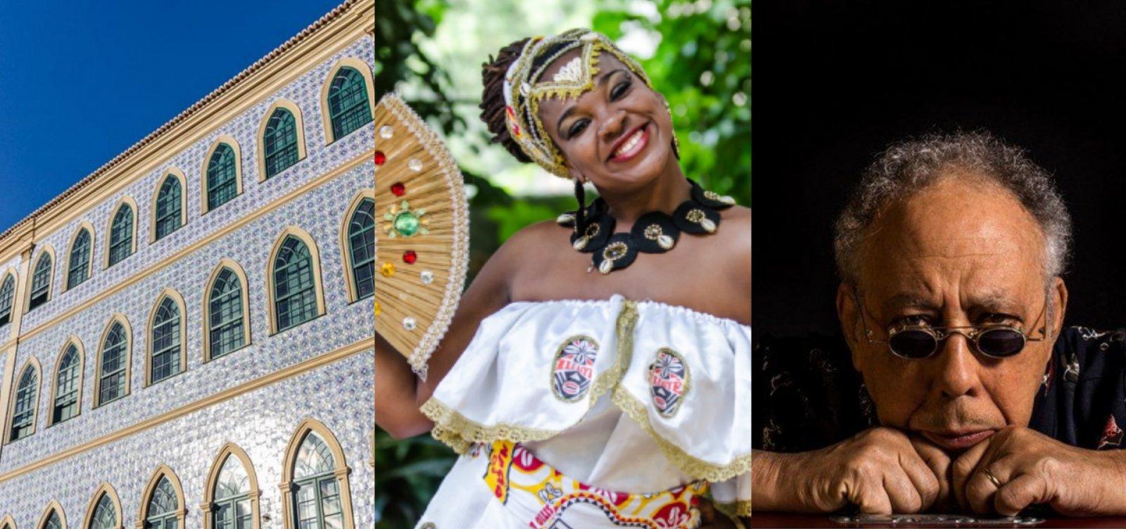 Cidade da Música, Ilê Aiyê e Jards Macalé: programe seu fim de semana em Salvador