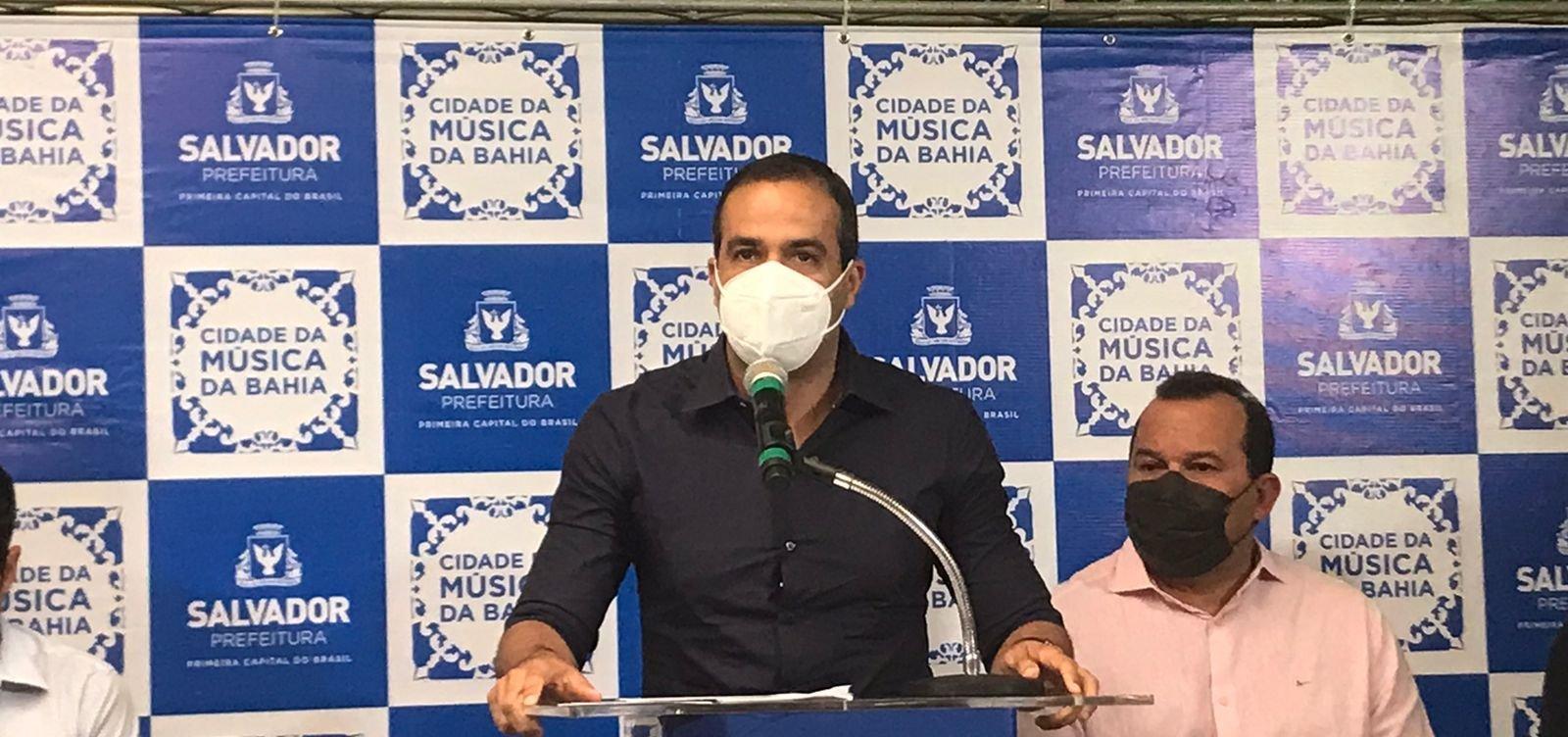 Salvador terá memorial das vítimas da Covid-19 na Praça Cairu, anuncia Bruno Reis