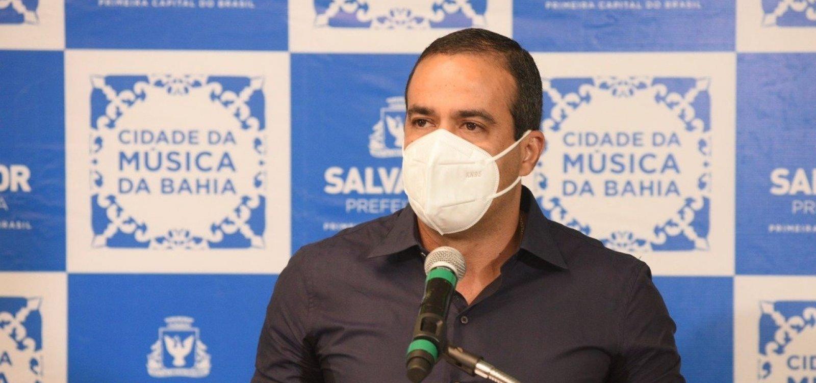 Prefeito anuncia o retorno das aulas totalmente presenciais na rede municipal para segunda-feira