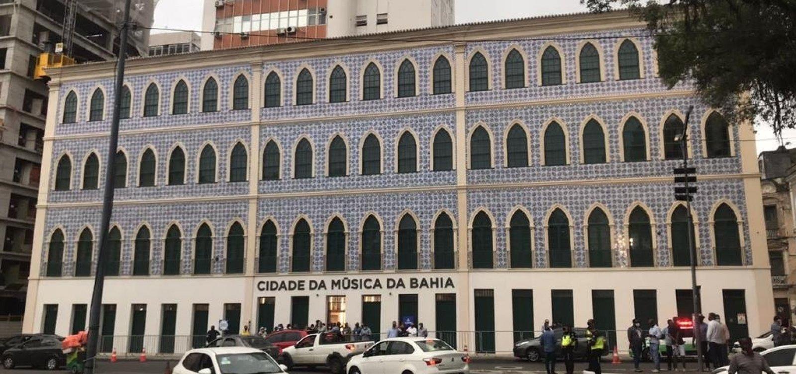 Interativo e com entrada gratuita às quartas, Cidade da Música é inaugurado em Salvador
