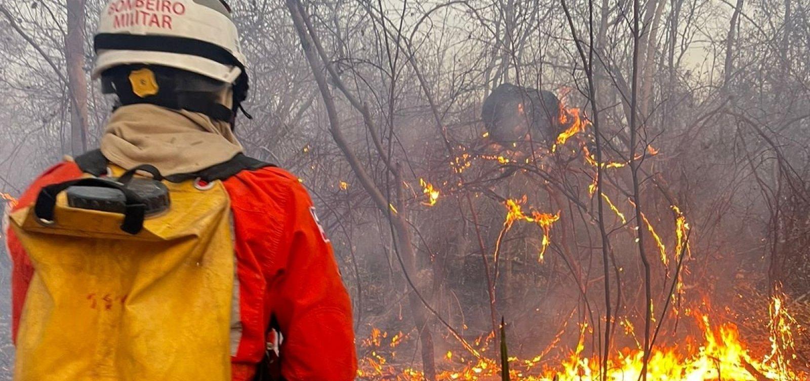 Temporada de incêndios: aviões que atuavam em Lençóis são deslocados para Uibaí