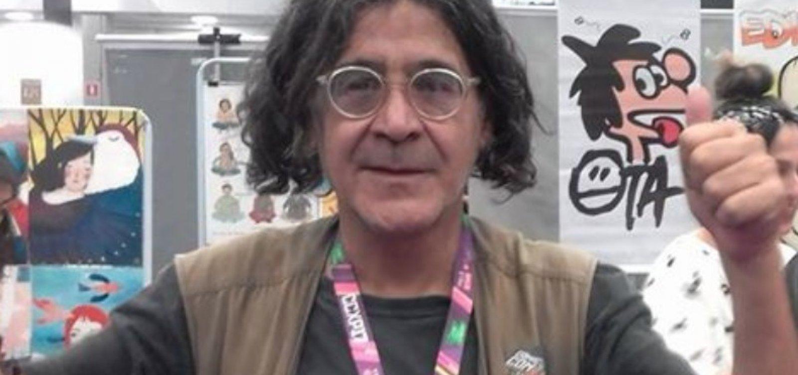 Aos 67 anos, cartunista Ota é encontrado morto no seu apartamento