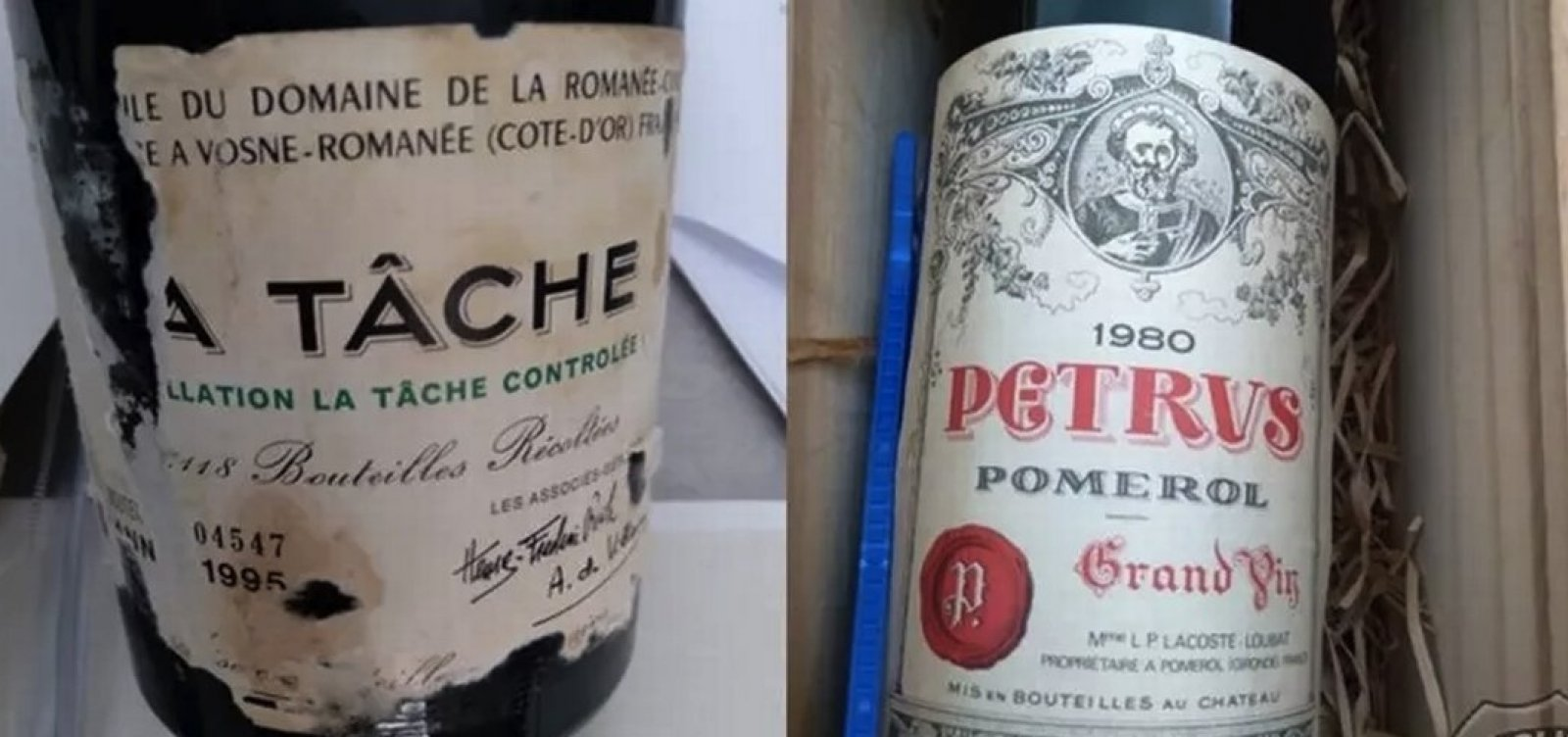 PF recupera vinhos raros furtados do Ministério das Relações Exteriores