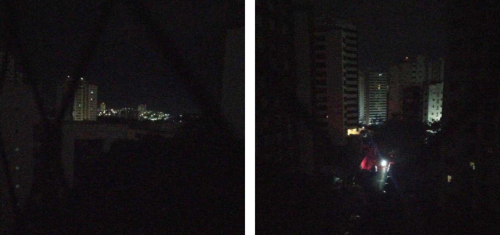 Salvador sofre apagão com falta de energia em diversos bairros