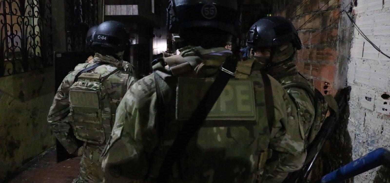 Grupo é preso após fazer reféns no bairro da Cidade Nova, em Salvador