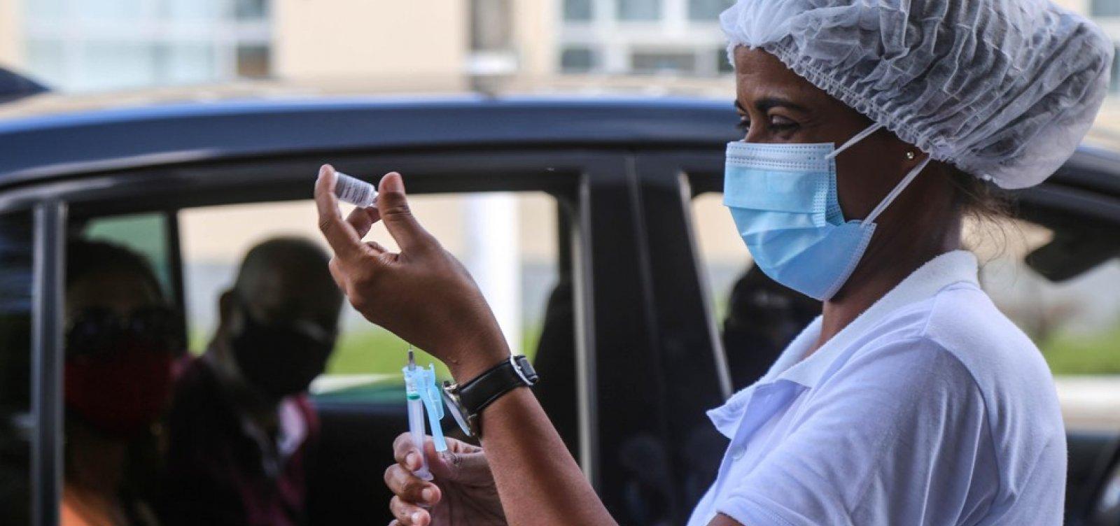 Vacinação em Salvador está suspensa neste domingo