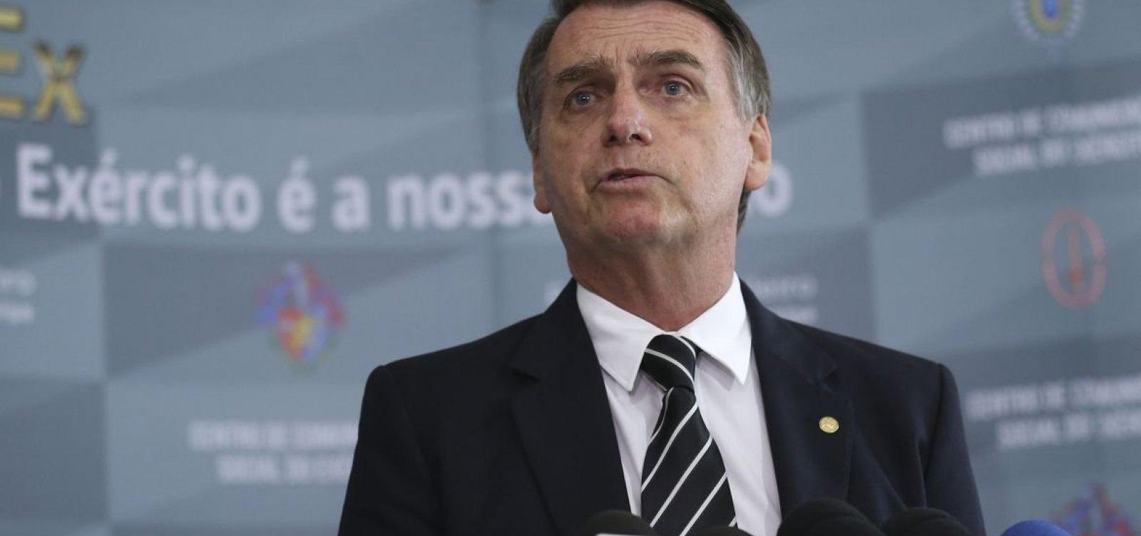 Com mil dias de governo, Bolsonaro vem à Bahia para inaugurar trecho de 10km de asfalto