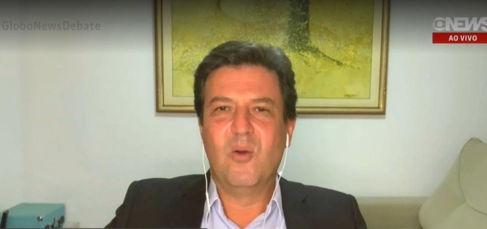 Se caminho for apoiar Bolsonaro, não estarei lá, diz Mandetta sobre fusão entre DEM e PSL