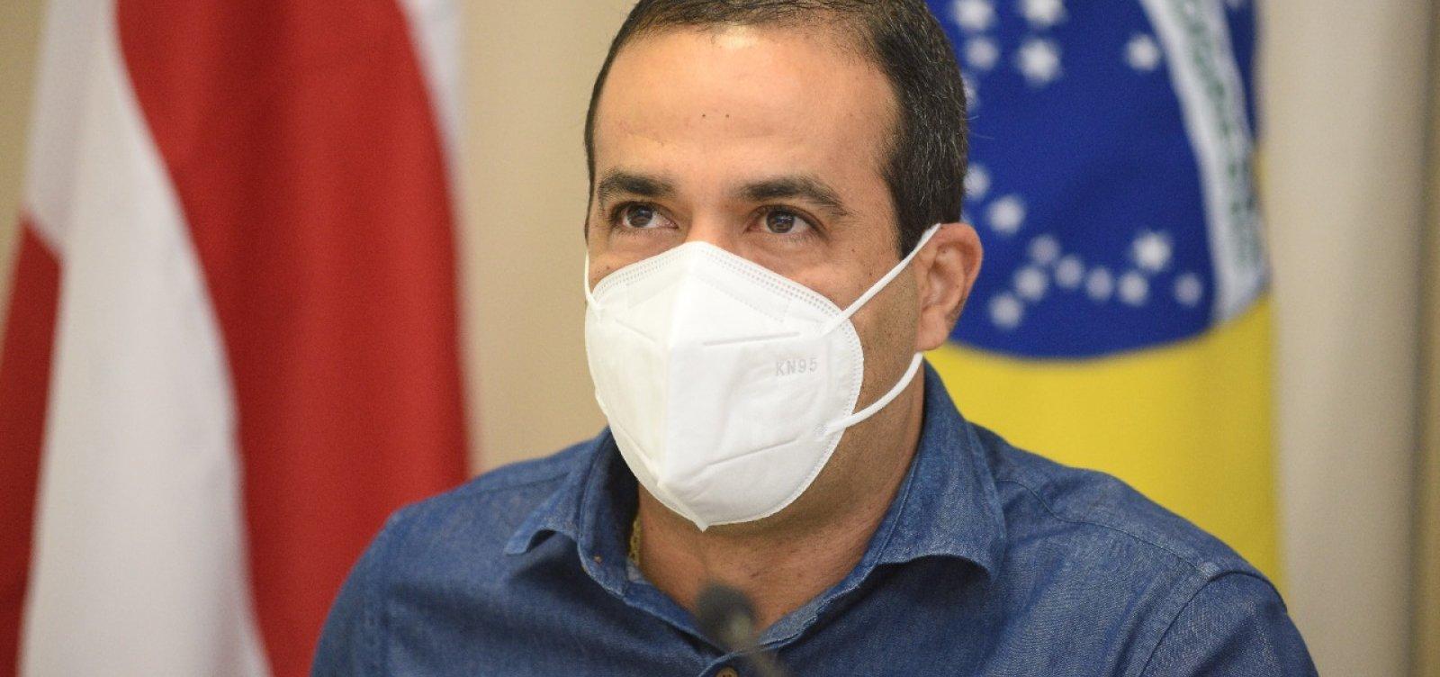 """""""Ainda não representou impacto no sistema de saúde"""", diz Bruno Reis sobre delta em Salvador"""