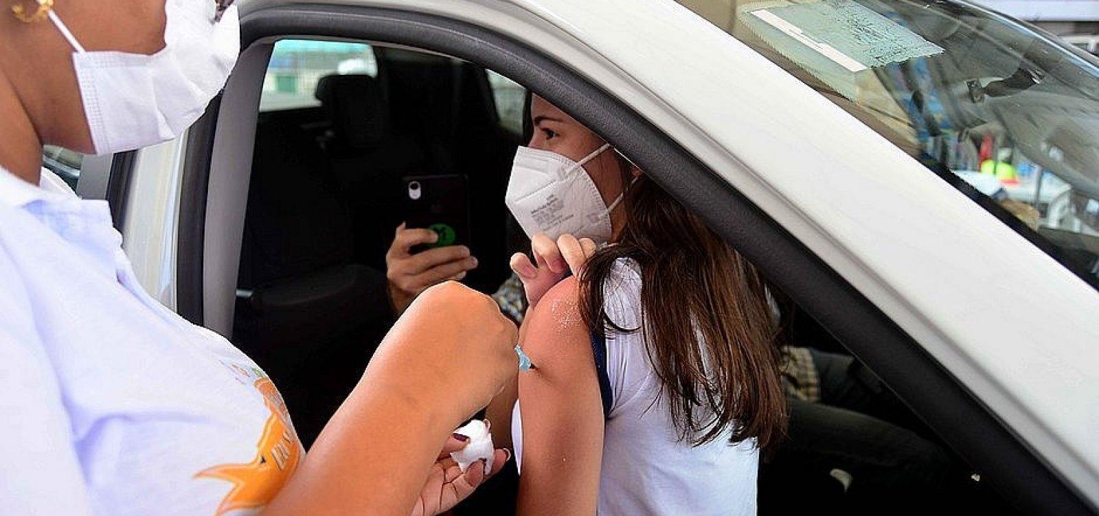 Salvador tem 270 mil faltosos da vacina; 'esquecidos' da segunda dose puxam conta para cima