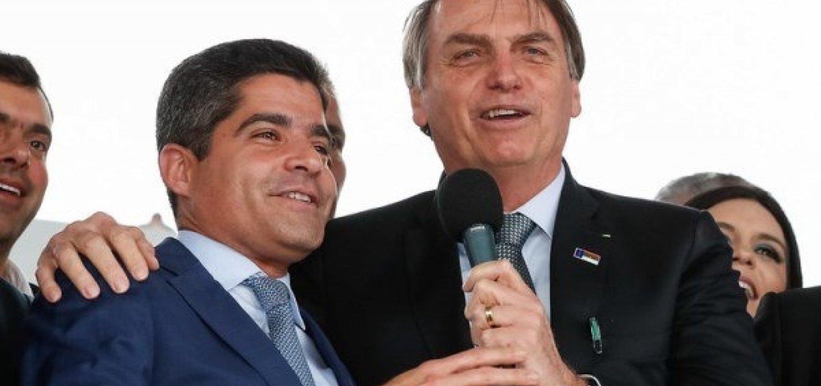 Apoio a Bolsonaro será livre nos estados, diz ACM Neto sobre sigla que sairá da fusão DEM-PSL