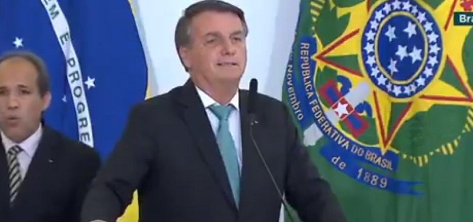 """""""Nada está tão ruim que não possa piorar"""", diz Bolsonaro sobre crise econômica"""