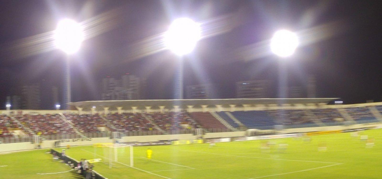 Bahia pode jogar em Aracaju para resolver impasse de retorno de público nos estádios