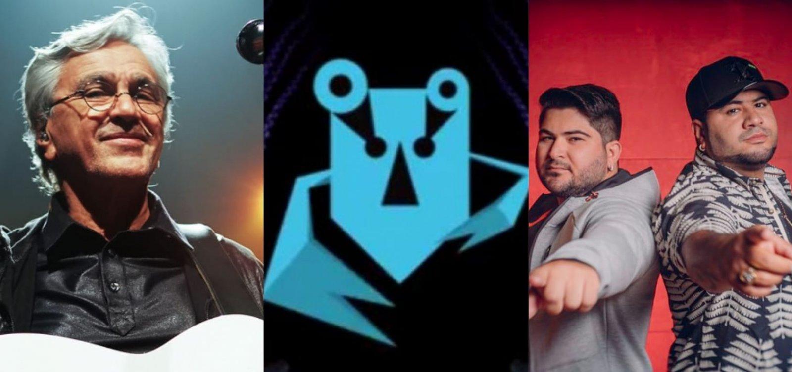 Caetano, BaianaSystem e Barões da Pisadinha são indicados ao Grammy Latino
