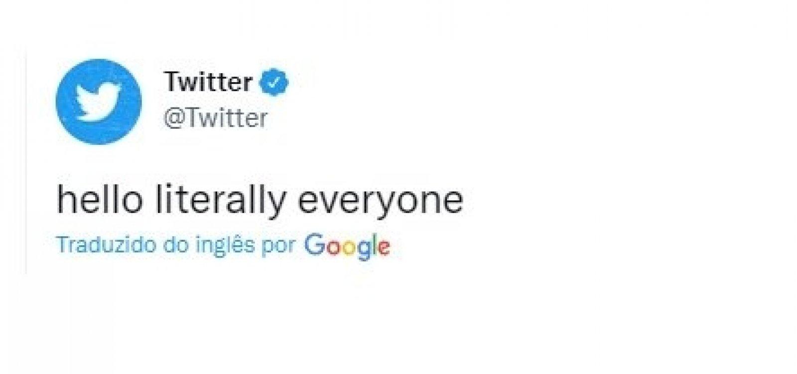 """Fora da pane generelizada, Twitter ironiza demais redes sociais: """"Olá, literalmente a todos"""""""